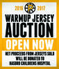 P-Bruins Warmup Jersey Auction