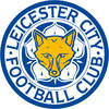 The Leicester City badge before its revision in 2009 worn from 1992.