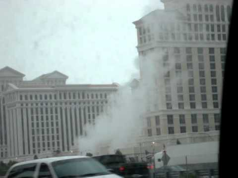 Bellagio Las Vegas Fire?